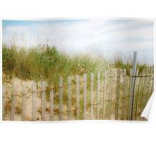 BEACH Photography, Ocean, Coastal, Cape Cod, Atlantic Poster