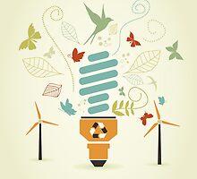 Energy saving bulb by Aleksander1
