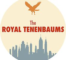 The Royal Tenenbaums - Sticker by Zach Moore