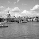 London across thames by Arvind Singh