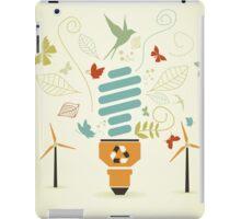 Energy saving bulb iPad Case/Skin
