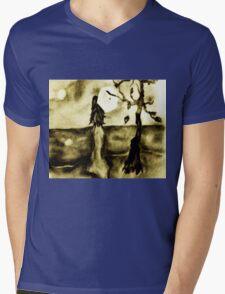 Lost at Sea Mens V-Neck T-Shirt