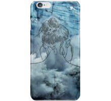 Lonely woman iPhone Case/Skin