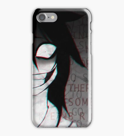 Jeff iPhone Case/Skin