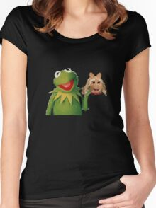 Muppets: Cannibalism Simulator Shirt Women's Fitted Scoop T-Shirt