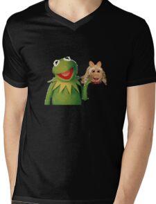 Muppets: Cannibalism Simulator Shirt Mens V-Neck T-Shirt