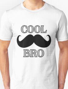 Cool Mustache Bro Unisex T-Shirt
