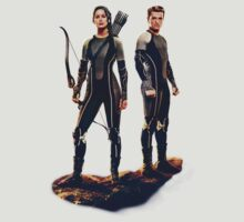 Katniss and Peeta by Tony Truong