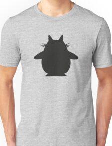 Totoro (black) Unisex T-Shirt