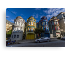 Painted Ladies - Central Ave Canvas Print