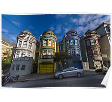 Painted Ladies - Central Ave Poster