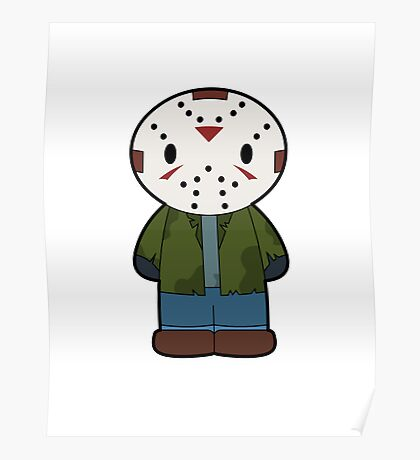 Cartoon Friends: Jason Poster