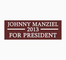 STICKER - Johnny Manziel for President by MOHAWK99