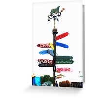 Show Me the way to go home Greeting Card