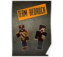 Team Bedrock Poster Poster