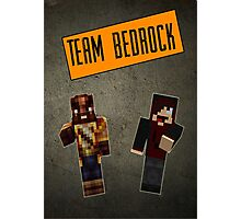 Team Bedrock Poster Photographic Print