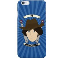 Doctor Who Portraits - Fourth Doctor - Bohemian iPhone Case/Skin