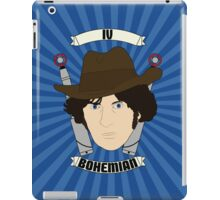 Doctor Who Portraits - Fourth Doctor - Bohemian iPad Case/Skin