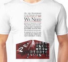 911  12th Anniversary Message Unisex T-Shirt