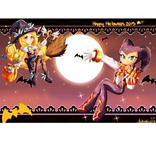 Halloween- NiGHTS and Maria Photographic Print