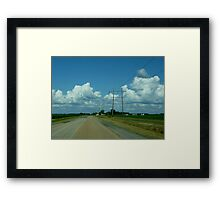 Lines To Nowhere Framed Print