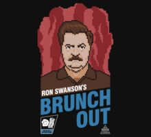 Ron Swanson's BrunchOut One Piece - Long Sleeve