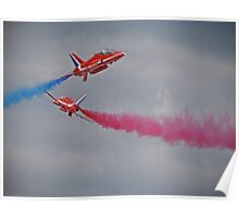Red Arrows Close Pass - Dunsfold 2012 Poster