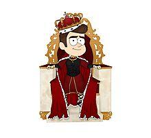 His Royal Highness Chris Colfer Photographic Print