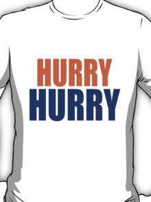 HURRY HURRY!  (Denver Broncos, Peyton Manning) T-Shirt