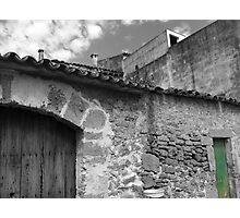 Green Door Photographic Print