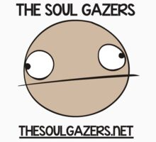 The Soul Gazers Black Text Shirt/Jacket/Stickers by TheSoulGazers