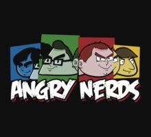 Angry Nerds One Piece - Short Sleeve