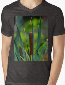 SCOTTISH BULLRUSH Mens V-Neck T-Shirt