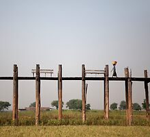 U Bein Bridge, Myanmar   by Travelographer