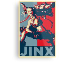 JINX (League of Legends) Metal Print