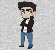 Derek Hale sticker by hellredsky