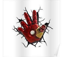 Iron man's hand Poster