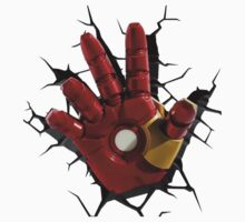 Iron man's hand One Piece - Short Sleeve