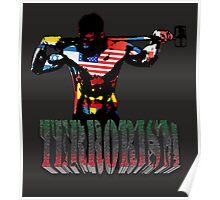 smash terrorism Poster