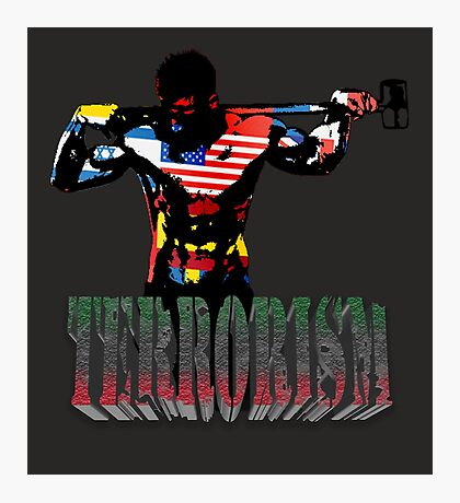 smash terrorism Photographic Print