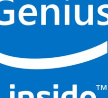 Genius inside Sticker