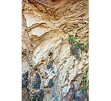 Havasu Falls Rock Wall Waves  Photographic Print