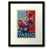 YASUO (League of Legends) Framed Print