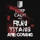 KEEP CALM RECON CORPS white text by sleepingm4fi4
