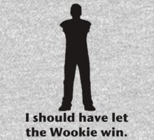 Let the Wookie win One Piece - Long Sleeve