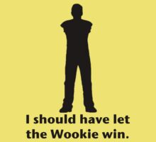Let the Wookie win Kids Tee