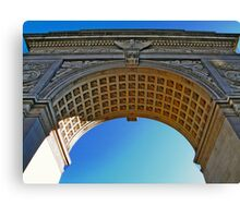NYC - Washington Square Park Arch Canvas Print