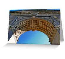 NYC - Washington Square Park Arch Greeting Card