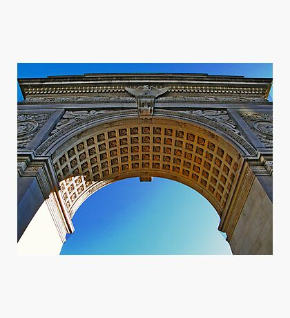 NYC - Washington Square Park Arch Photographic Print