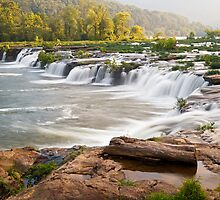 Sandstone Falls on the New River, West Virgina by Kenneth Keifer